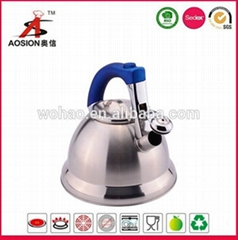 new design stainless steel turkish tea kettle