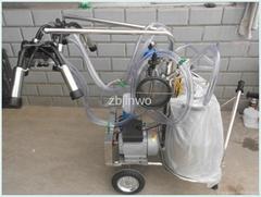 Vacuum Pump Typed Cow Milking Machine