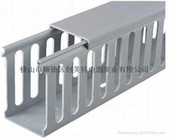 厂家直销环保阻燃PVC走线槽