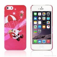 "Latest Christmas Design Beautiful PC Hard Case for iPhone 6 4.7"" Inch - Parachut"