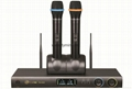 UHF Dual Channel Rechargeable Wireless