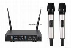 UHF Metal Karaoke Wireless Microphone
