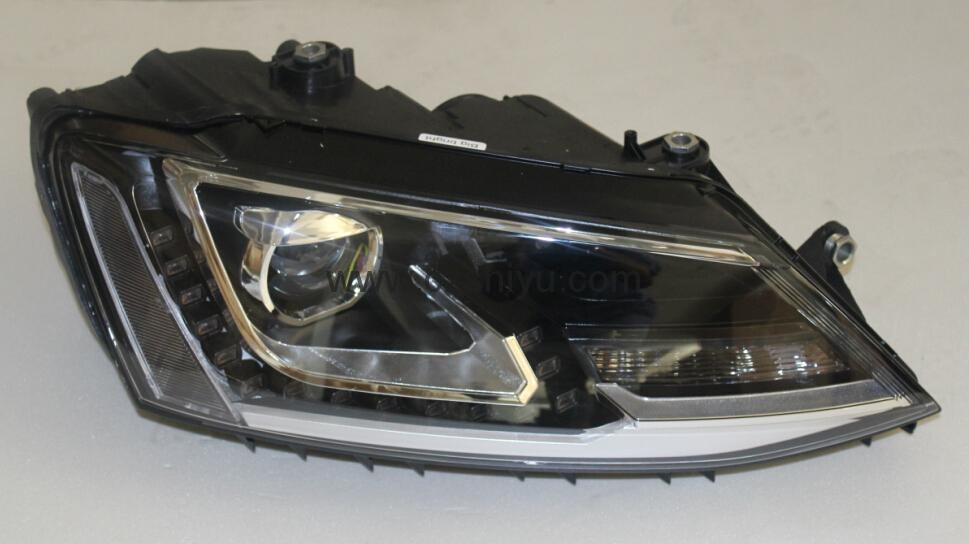 Volkswagen Jetta 6 GLI headlight with LED DRL for halogen replica - SY-VWJ6 - SHIYU (China ...