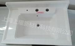 上海上耀高強度衛浴smc材料洗臉盆