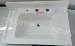 上海上耀高强度卫浴smc材料洗脸盆
