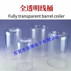 Fully transparent barrel coiler