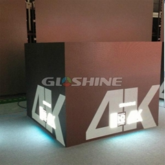 flexible slim die casting aluminum big stage LED display