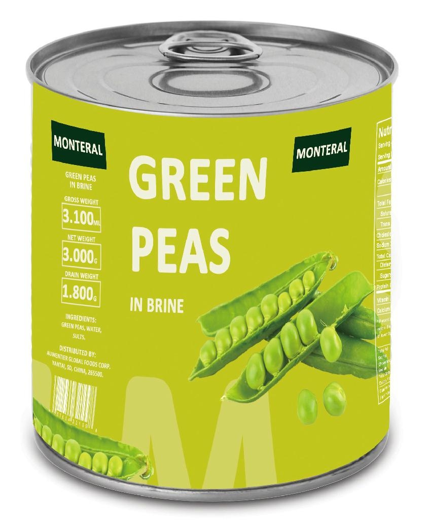 Canned Beans in Brine 1