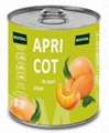 Canned Apriots in Light Syrup