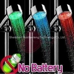 led color shower head