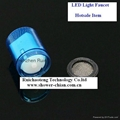 led light illuminate waterfall bathtub plastic faucet spout  2