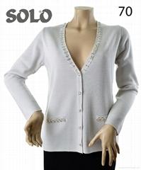 Women's White color Cardigan