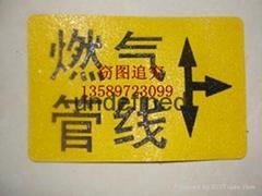 粘貼式燃氣標誌牌