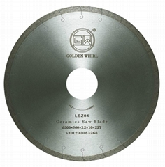 Laser trough Ceramics saw blade 300
