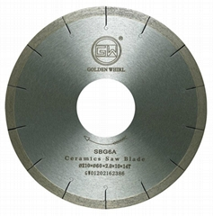 Brazed Ceramic saw blade 210