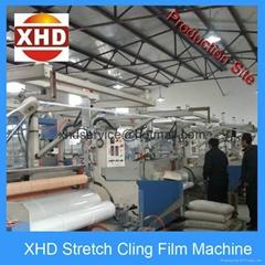 cast stretch film making machine Single Layer 1000mm Stretchable Film Machine
