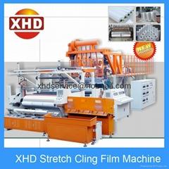 3*500mm Triple Screw Automatic Stretch Film Machine in Guangdong