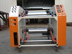 stretch film rewinding sillter machine