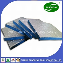 heat resistant insulation Aluminum foil compound fireproof insulation board