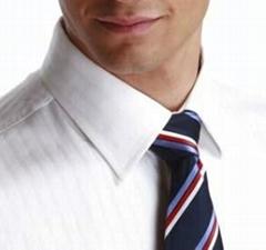 封压领衬衣