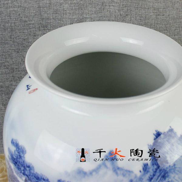 手繪青花陶瓷花瓶  青花瓷瓶 高檔禮品花瓶 2