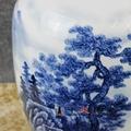 手繪青花陶瓷花瓶  青花瓷瓶 高檔禮品花瓶 3