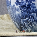 手繪青花陶瓷花瓶  青花瓷瓶 高檔禮品花瓶 4