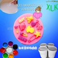Resin crafts mold making rtv silicone