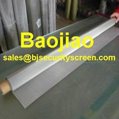 Woven 0.0016'' 316L Stainless Steel Wire Cloth