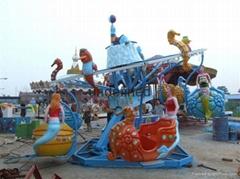 公园游乐设备海洋漫步