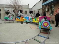 儿童卡通动物轨道类公园游乐设备
