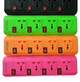 power strip surge protector with usb charger  1