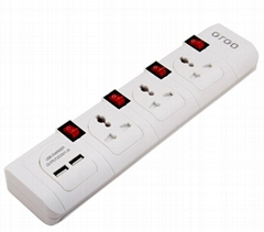 surge protector with usb charger  power