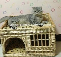 wicker basket wicker pet basket dog house wicker dog bed pet house