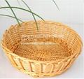 wicker basket wicker bread basket wicker