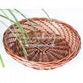 Cheristmas wicker basket wicker bread