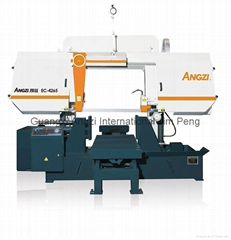 Horizontal power cutting saws machine