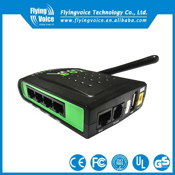 Mini VoIP Wireless Router with 1 FXS 1 USB port 1
