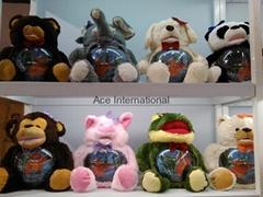 Fishbowl plush toys
