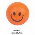 cheap smile face stress ball 3