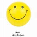 cheap smile face stress ball 5