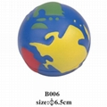 promotional cheap earth stress ball