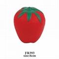 promotional cheap fruit shaped stress