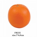 promotional cheap fruit shaped stress ball 3