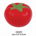 promotional cheap fruit shaped stress ball 5