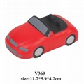 promotional cheap car stress ball toy 4