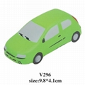 promotional cheap car stress ball toy 3