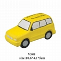 promotional cheap car stress ball toy