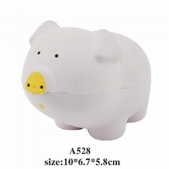 promotional cheap animal shaped stress ball toy