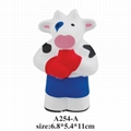 promotional cheap animal shaped stress ball toy 2